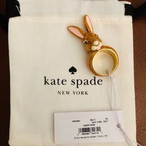 🔥 SALE TODAY Kate Spade Desert Muse Bunny Ring